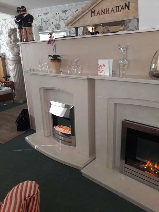 our range of fire places